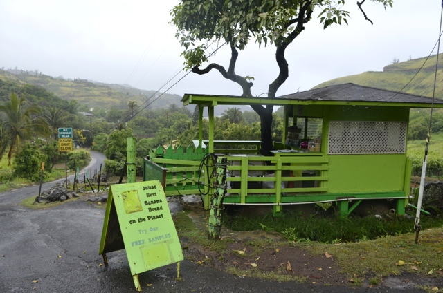 Julia's Best Banana Bread on the Planet in Maui, Hawaii