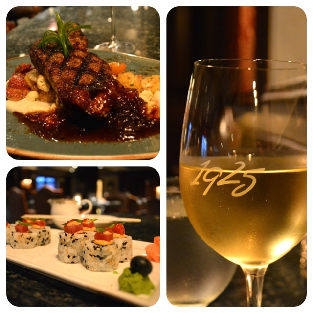Steak, sushi, and wine at the Renaissance Vinoy 2