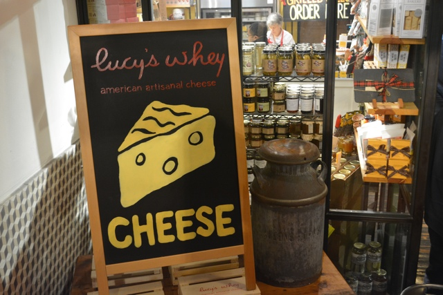 Lucys Whey in the Chelsea Markets in New York City
