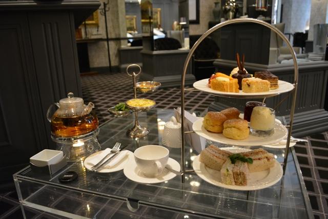 afternoon tea at 54 on Bath