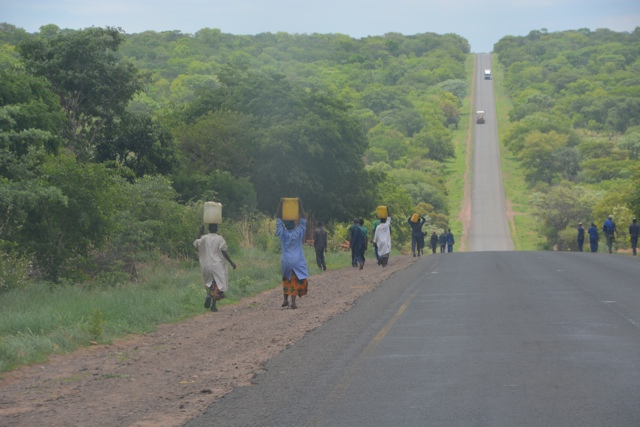 Zambian road side