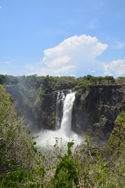 Devil's cataract Victoria Falls