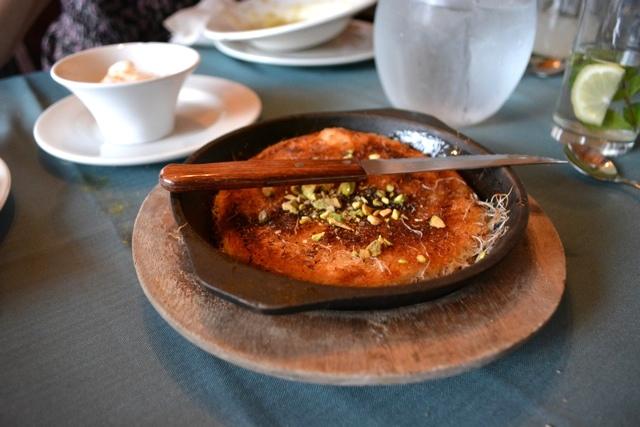 Uri Jeremias Buri knafe dessert