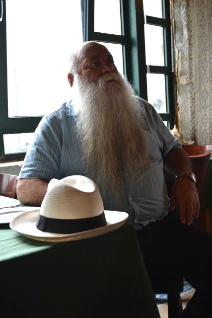 Uri Jeremias at Uri Buri restaurant
