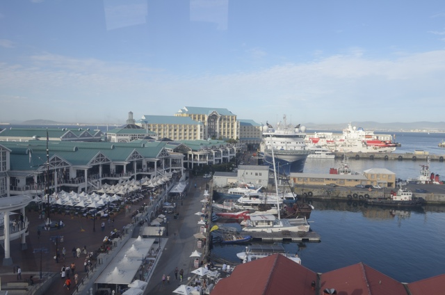V&A Waterfront in downtown Cape Town, South Africa