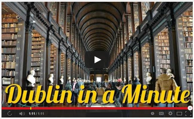 Dublin in a minute screen shot