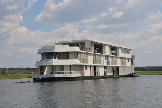 The Zambezi Queen Houseboat - Staying Aboard the Zambezi Queen
