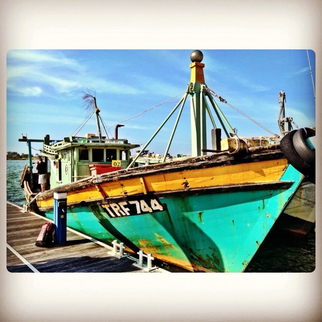 a fishermans squid jigging boat in terengganu malaysia - Malaysia As Seen Through Instagram Photos