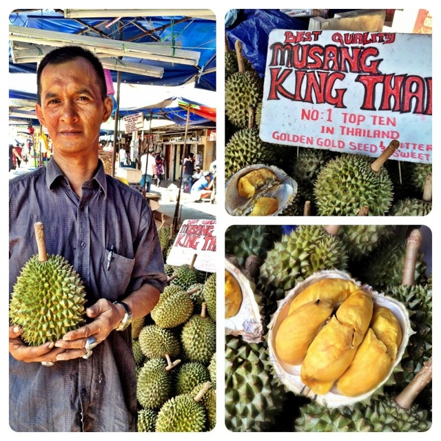 durian king fruit at the chinatown market in terengganu malaysia - Malaysia As Seen Through Instagram Photos