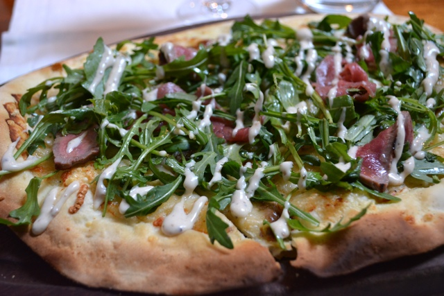 fade street social beef and truffle flatbread - Homegrown Local Food in Dublin