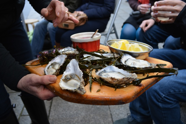 the temple oyster bar oysters - Fabulous Food Trail Tours in Dublin