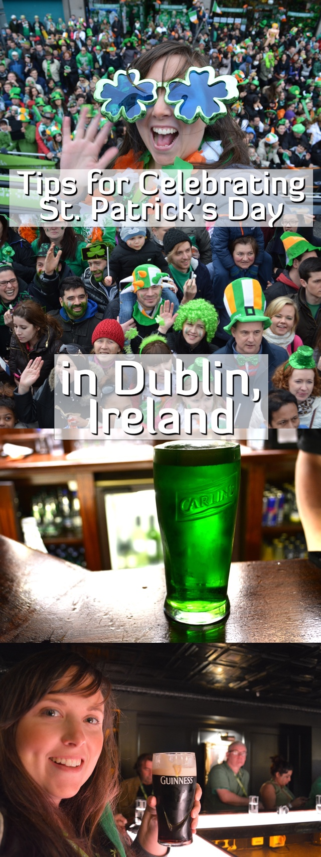 tips for celebrating st patricks day in dublin, ireland pin
