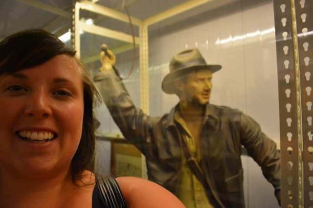 Cailin and Indiana Jones - Visiting the Penang Toy Museum