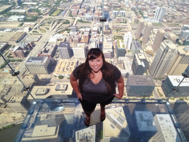Cailin at Skydeck Chicago - Chicago in a Minute