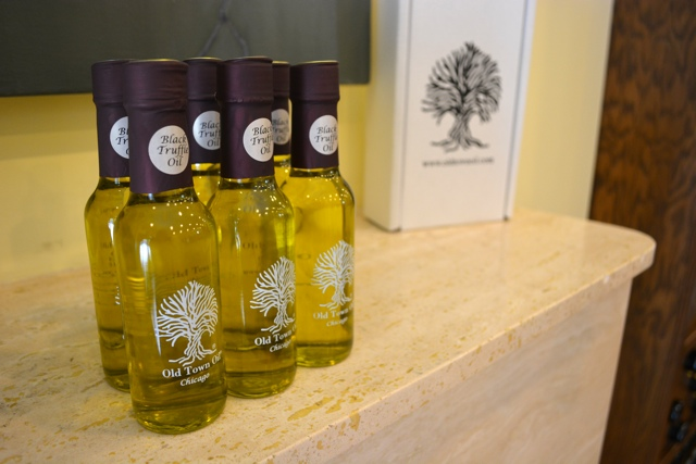 black truffle oil Old Town Oil - Gold Coast & Old Town Chicago Food Planet Tour Review
