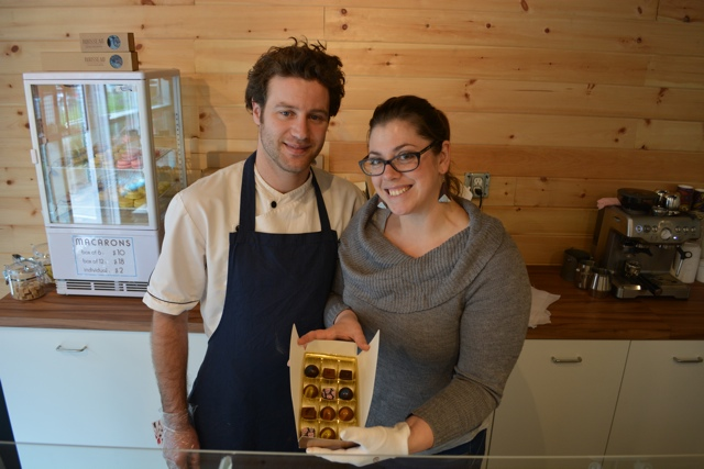 Julien and Nathalie owners of Rousseau Chocolatier - My Big Day Downtown in Halifax