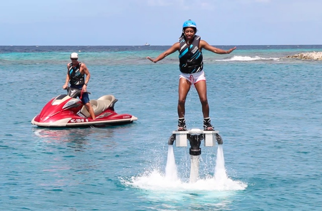 flyboarding in Curacao - Best Things to do in Curacao