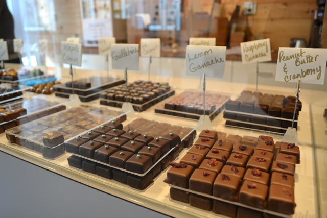 rousseau chocolates - My Big Day Downtown in Halifax