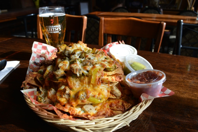 the economy shoe shop nachos and beer - My Big Day Downtown in Halifax