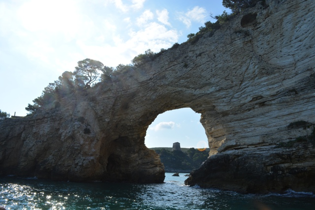 stone archway the grottoes of Vieste - 5 Best Things to do in Gargano, Italy