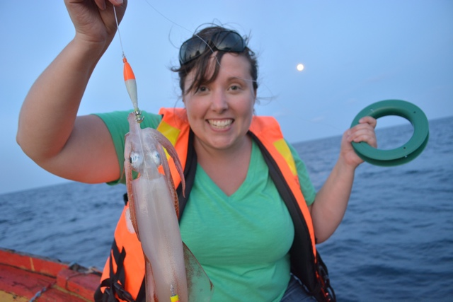 cailin squid jigging - Travel Yourself 2014 Year in Review