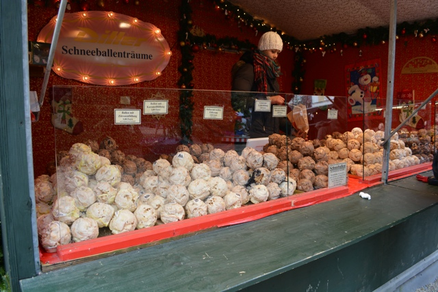 schneballen German Christmas dessert Passau - Best Tips for Visiting European Christmas Markets
