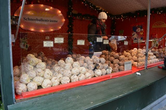schneballen German Christmas dessert Passau - Best Tips for Visiting European Christmas Markets