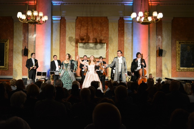 A Chamber orchestra performance in Vienna, Austria - A Viking River Cruise on the Danube Through Europe