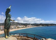 Beach view of Lloret de Mar - Tips for Renting an Apartment in Europe