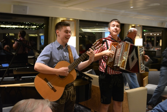 live entertainment on the viking delling - Room Review On A Viking River Cruise