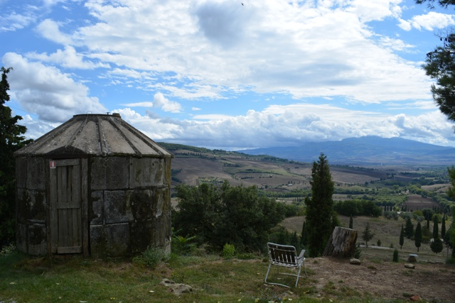 gorgeous view from Podere Il Casale - A Day Trip to Tuscany with Walks of Italy