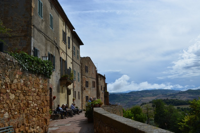 the town of Pienza over looking Tuscany, Italy - A Day Trip to Tuscany with Walks of Italy