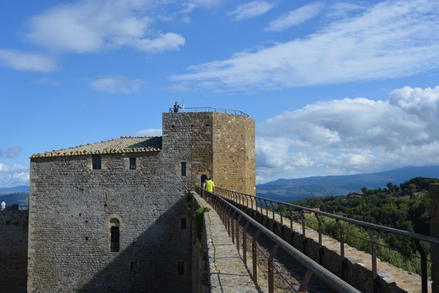view of La Fortezza Di Montalcino in Tuscany - A Day Trip to Tuscany with Walks of Italy