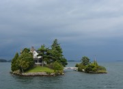A private island in the 1,000 islands one side in the US and the other in Canada - Adirondack Facts - Things to know before you go