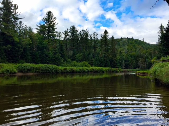 Fly Fishing on the Ausable River, Lake Placid in the Adirondacks, New York - Learning to Fly Fish in the Adirondacks