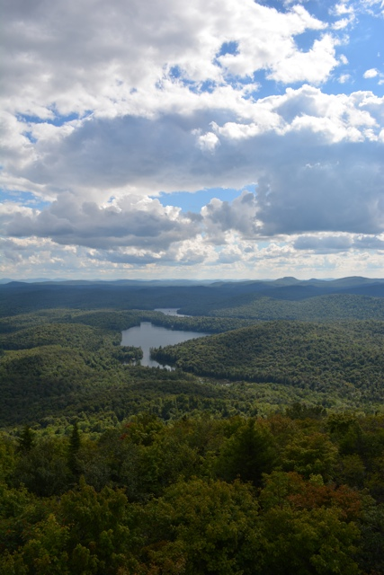 stunning views from the top of Mt Arab in the Adirondacks - Exploring the Adirondacks in New York State