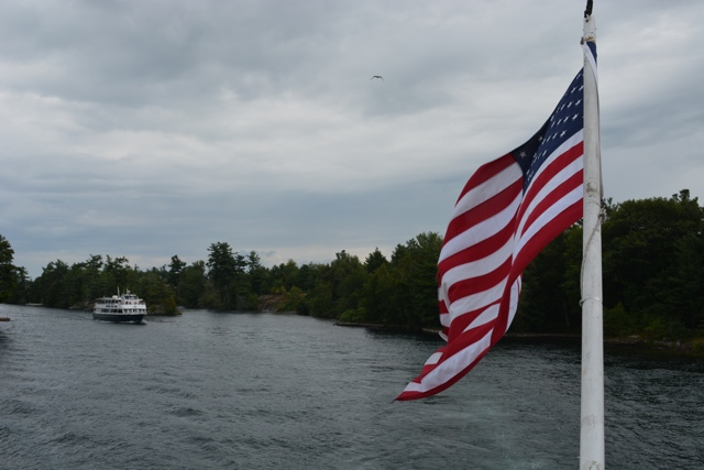 touring the St Lawrence River and 1,000 islands with Uncle Sam Boat tours - Exploring the Adirondacks in New York State
