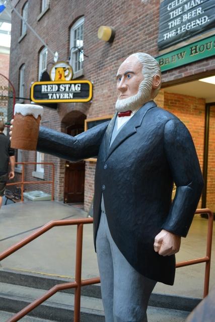 Alexander Keith Folk Art Statue - Alexander Keith's Brewery Tour in Halifax, Nova Scotia