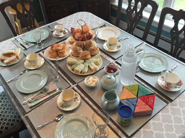 Cailin O'Neil Afternoon Tea