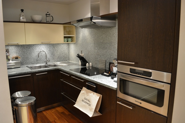 Cheval Phoenix House London Kitchen - The Best Luxury Apartment Rental in London - Where She Stayed