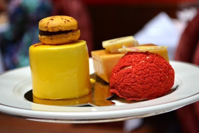 desserts with afternoon tea - Afternoon Tea at Belfast's Merchant Hotel