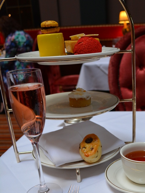 pastries and desserts for afternoon tea - Afternoon Tea at Belfast's Merchant Hotel