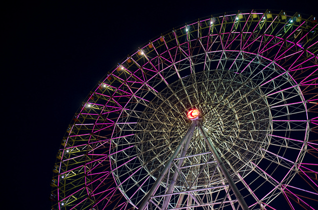 Eye of Jinji Ferris Wheel in Suzhou, China - photo credit Eason Q on Flickr - Win a Trip to Suzhou, the Venice of China