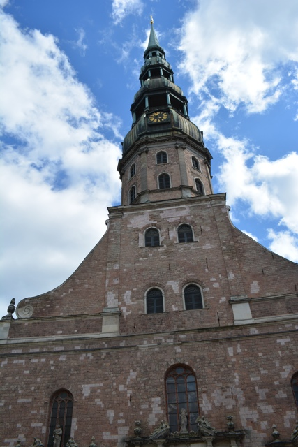 St Peters Church Riga top of the tower - Best Tips for Visiting Riga, Latvia #video