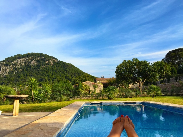 the view from luxury Villa La Rafal Gran - Staying in a Luxury Villa with Travelopo in Mallorca, Spain