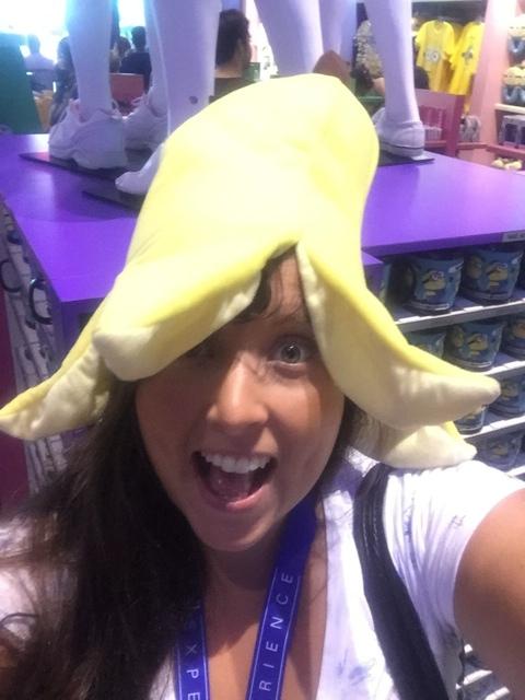 Cailin minion ride banana - Universal Orlando Resort VIP Tour Highlights