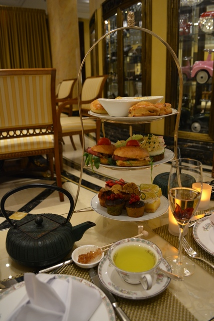 A full afternoon tea in Berlin - Afternoon Tea at The Ritz-Carlton, Berlin