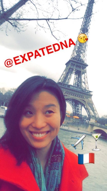 Edna of ExpatEdna.com on snapchat - Travel Bloggers Best Tips for Using Snapchat