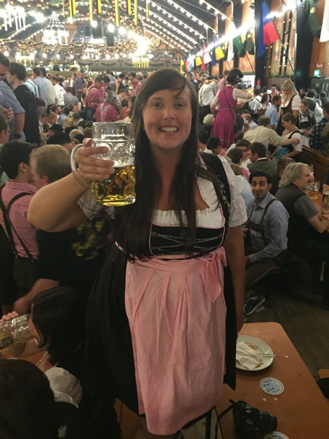 dancing on the benches at oktoberfest - Best Tips for Celebrating Oktoberfest in Munich