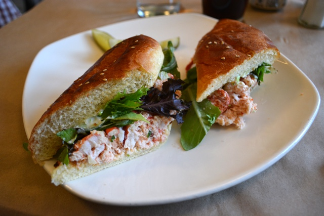lobster sandwich at the salt shaker deli in Lunenburg - Lunenburg, Nova Scotia Best Things to See and Do